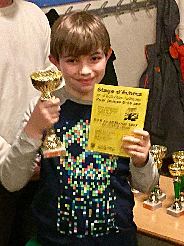 Paul Vainqueur du tournoi Schlack