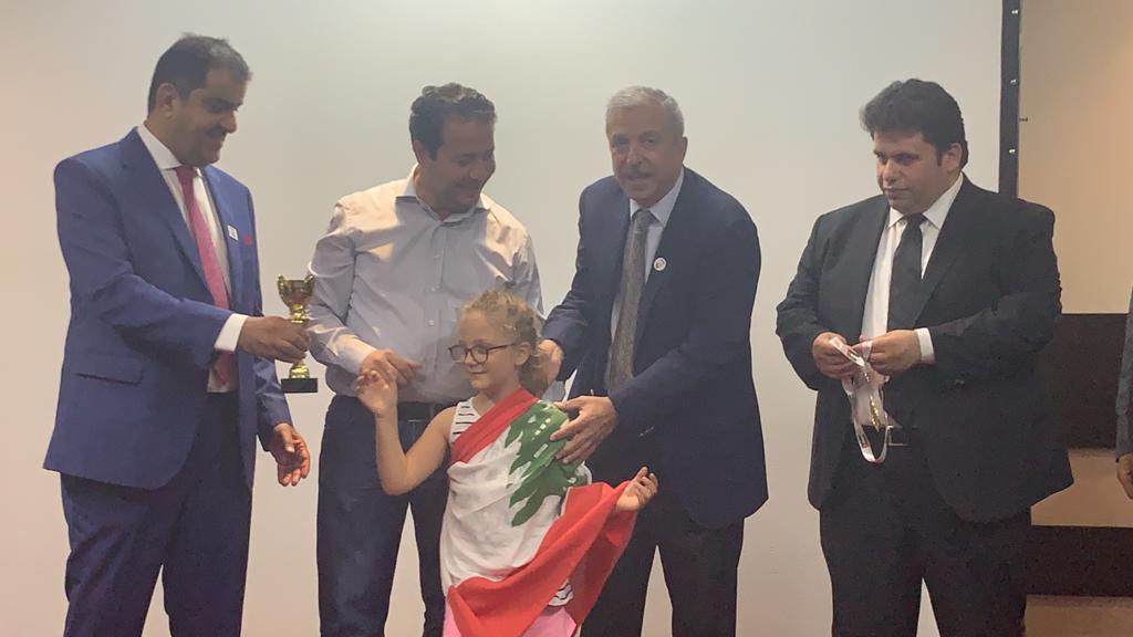Auriane, championne des pays arabes !