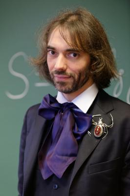 Cedric villani at his office 2015 n3
