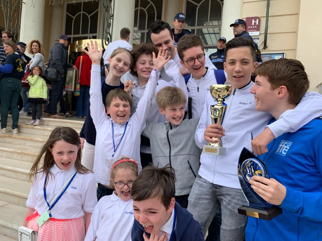 Championnat de France jeunes : un podium et beaucoup de joie !
