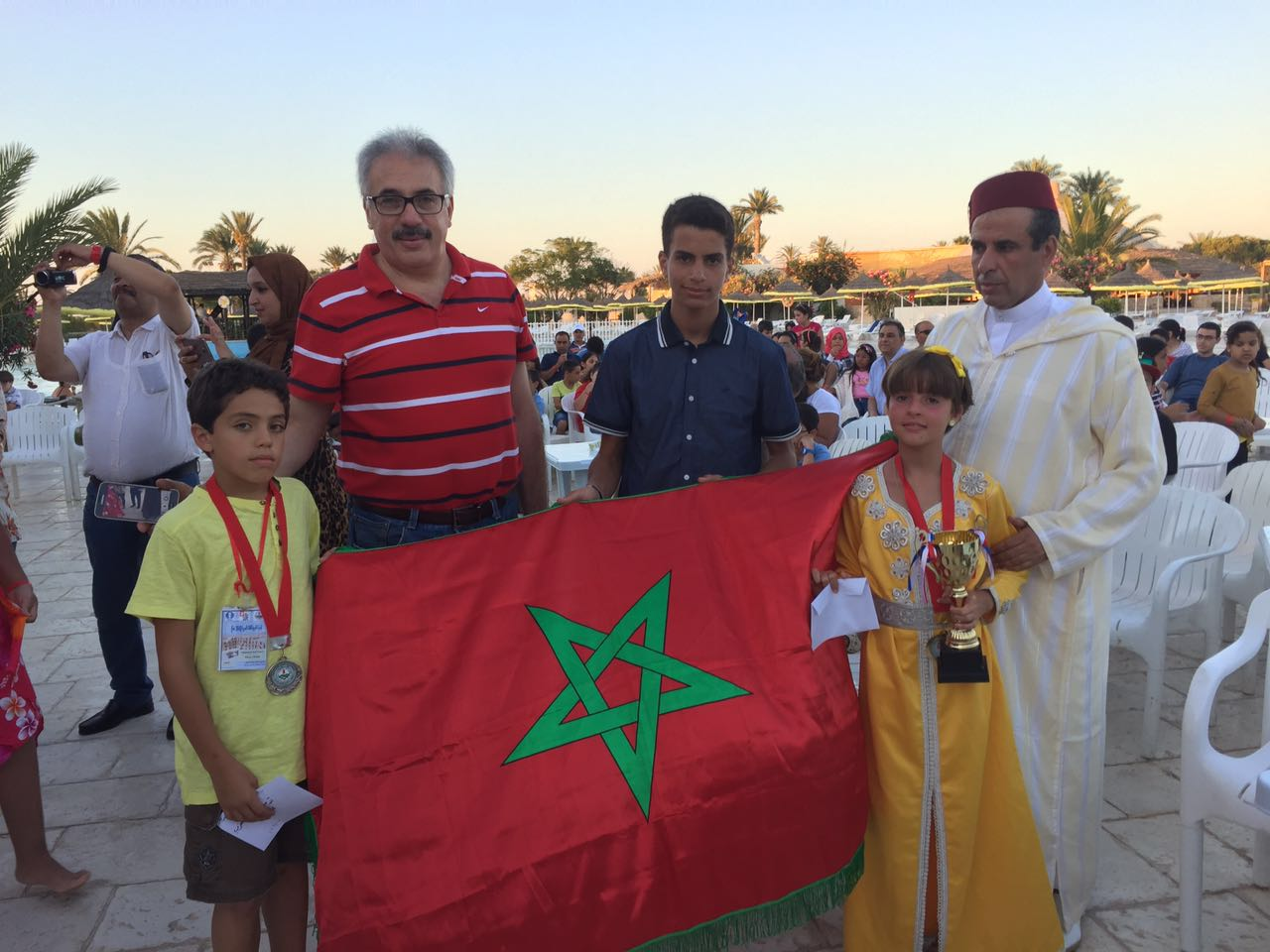 Mohamed-Jad : vice-Champion arabe !