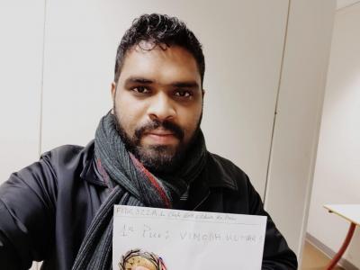 Kumar joueur du mois de février