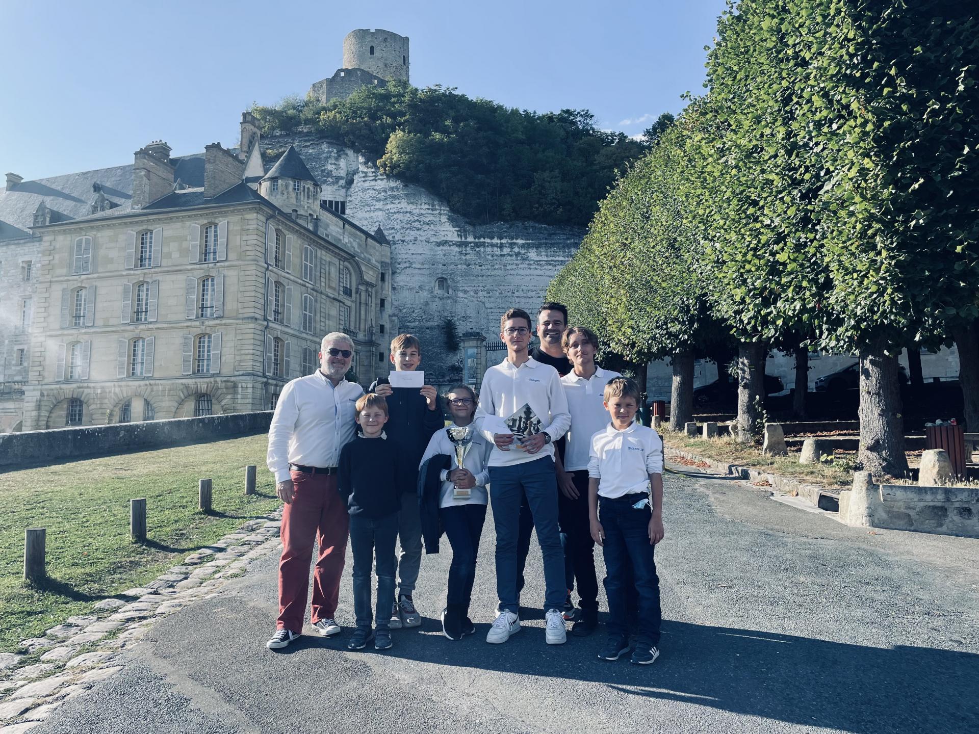 Nouveau succès à La Roche Guyon !