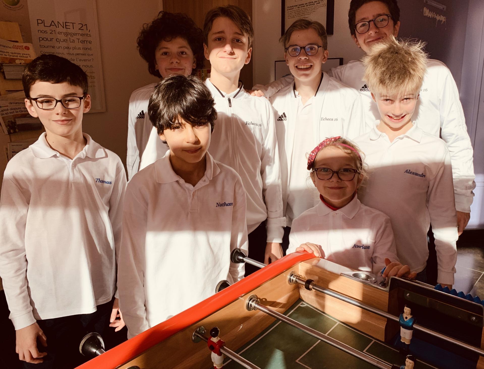 Excellent week-end pour nos équipes jeunes !
