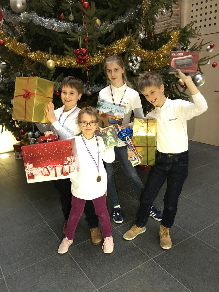 Des exploits aux Opens de Noël !