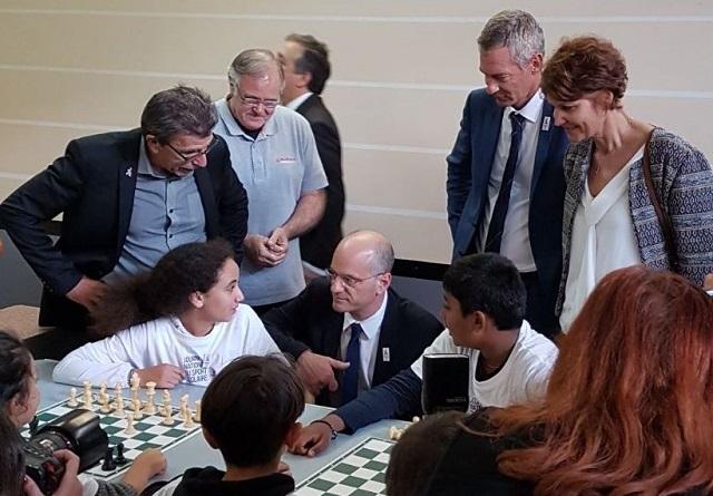 Le ministre nous parle des échecs !