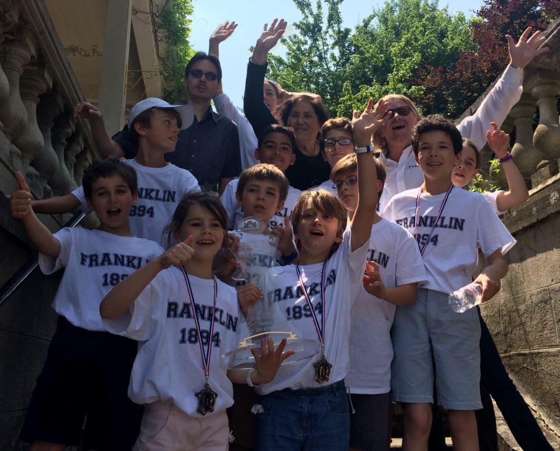 L'école Franklin vice-championne de France !